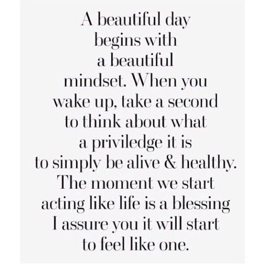 beautiful mindset